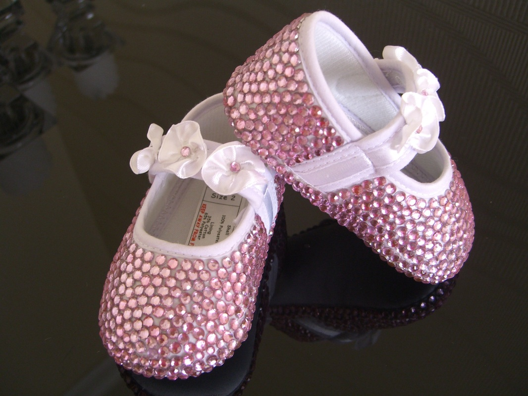 Gallery Bling Diamonte Shoes Blinging Up Baby By Lady