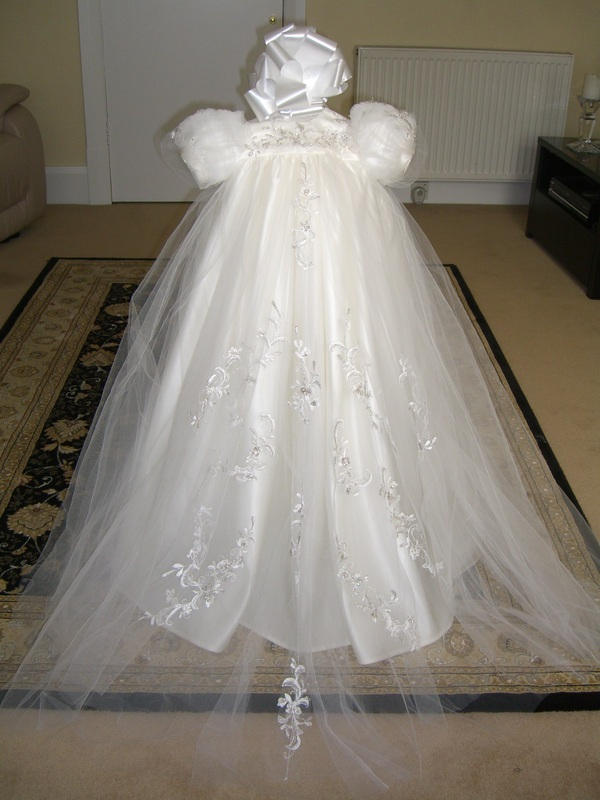 Designer Christening Gowns - Blinging Up Baby by Lady Bling & Baby ...