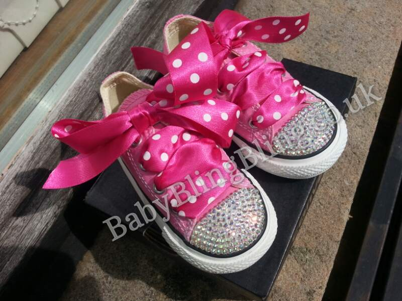 91985daa5291 Converse Bling Swarovski Diamonte - Blinging Up Baby by Lady Bling ...
